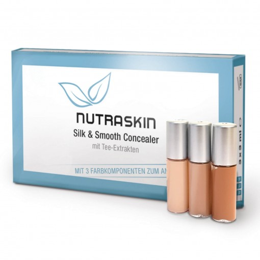 NUTRASKIN SILK & SMOOTH CONCEALER TRIO - 3 x 3 ml