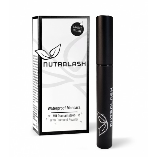 NUTRALASH WATERPROOF MASCARA MIT DIAMANTSTAUB - 5 ml.