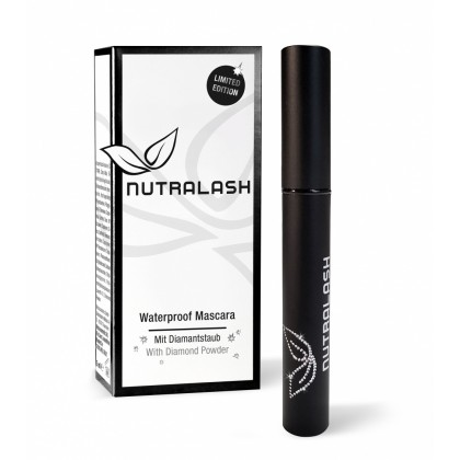 NUTRALASH WATERPROOF MASCARA CON POLVERE DI DIAMANTE  - 5 ml.